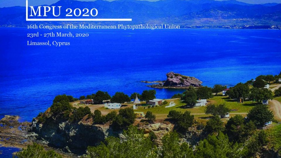 16th Congress of the Mediterranean Phytopathological Union